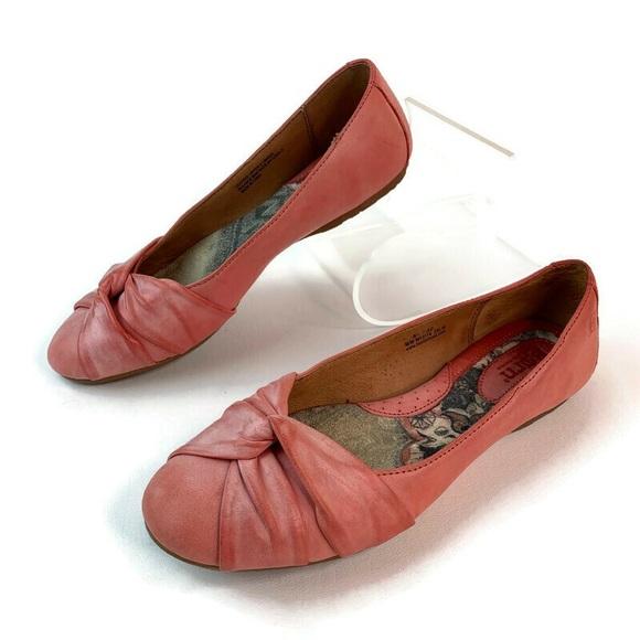 Born Pink Knot Front Comfort Ballet Flats sz 8.5